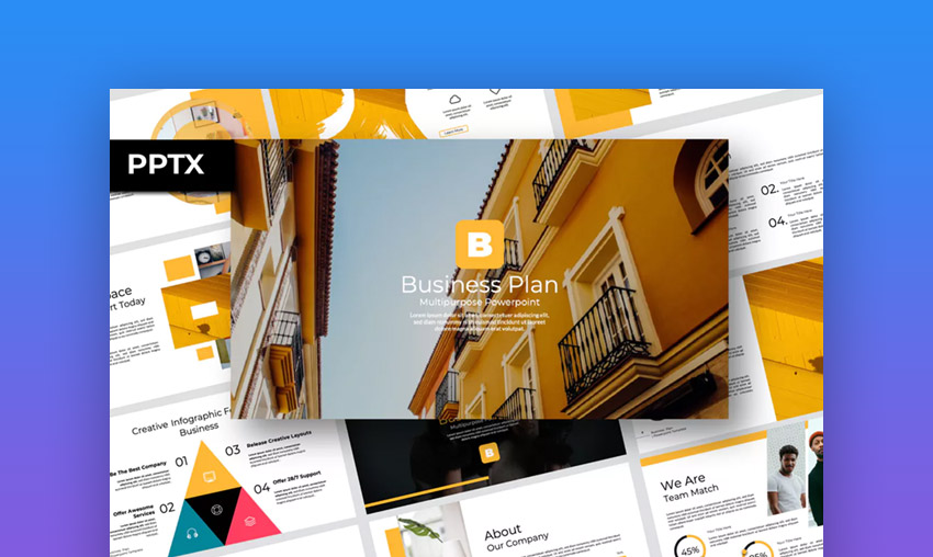 30 Best Business Plan Ppt Templates Download For Free