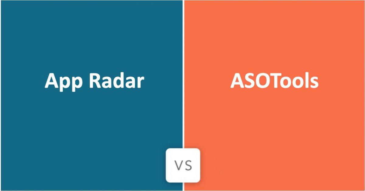 App Radar Vs ASOTools