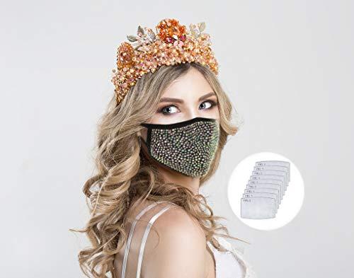 Glitter Face Mask - AmzChart