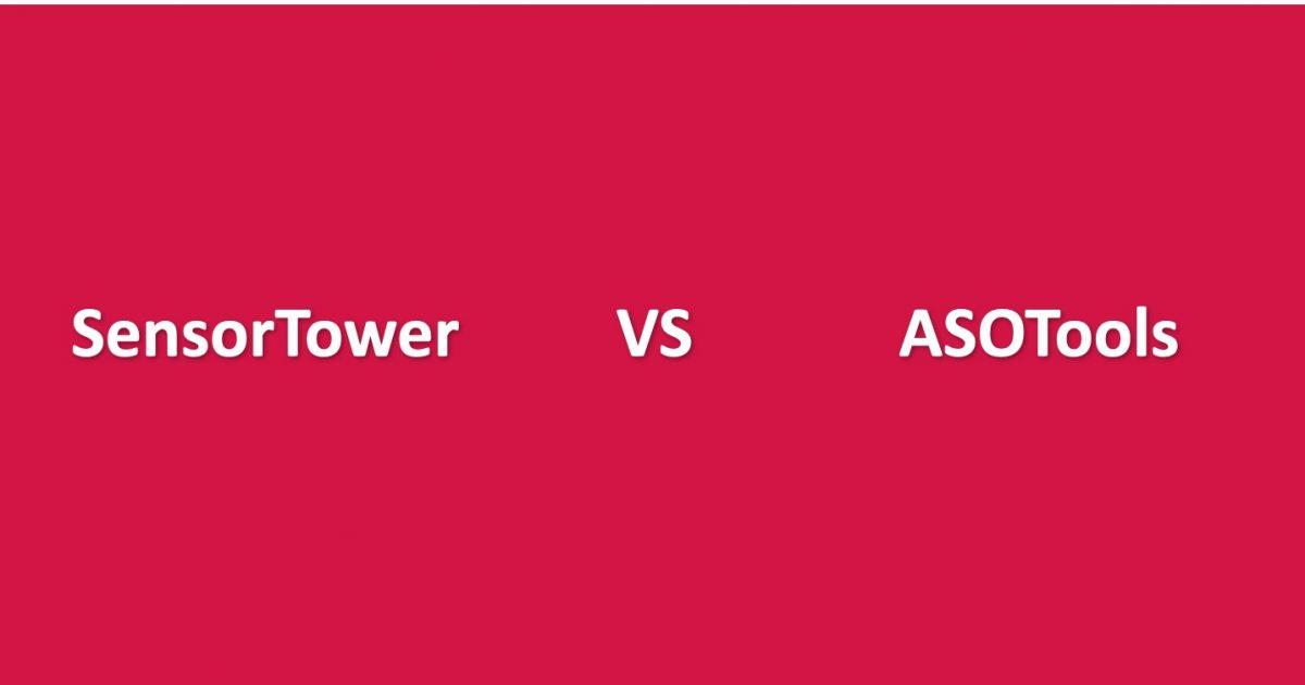 SensorTower Vs ASOTools