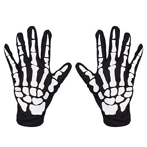 Skeleton Pattern Gloves - AmzChart