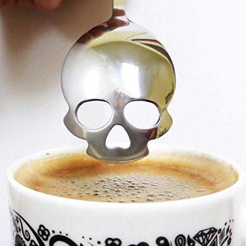 Skull Tea Spoon - AmzChart