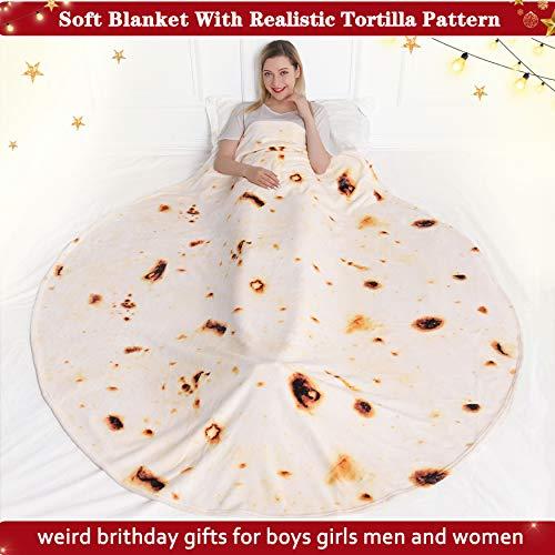 Tortilla Giant Food Blanket - AmzChart