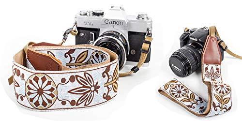 Woven Vintage Camera Strap - AmzChart