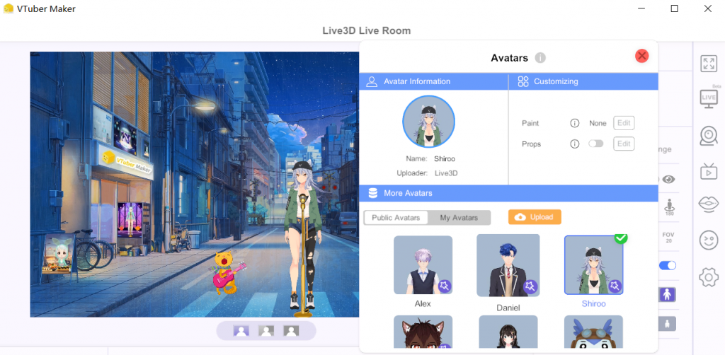 virtual 3d avatar