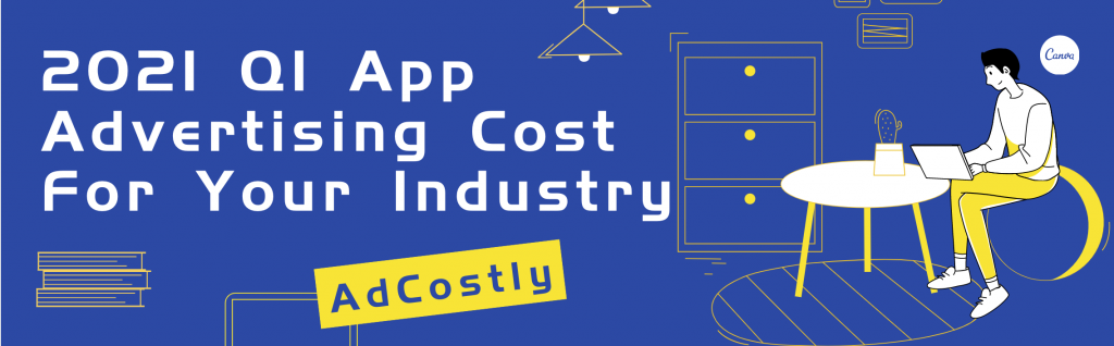 2021 Q1 App Advertising Cost For Your Industry-banner