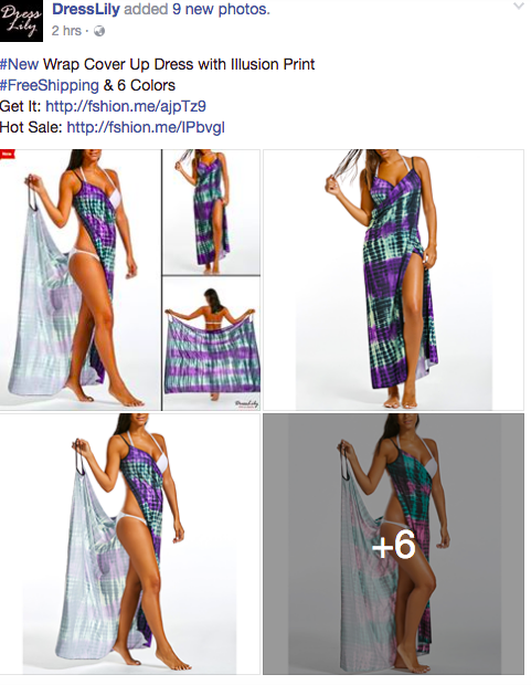 8 Dresses Facebook Ad Examples You Won't Miss-AdTargeting