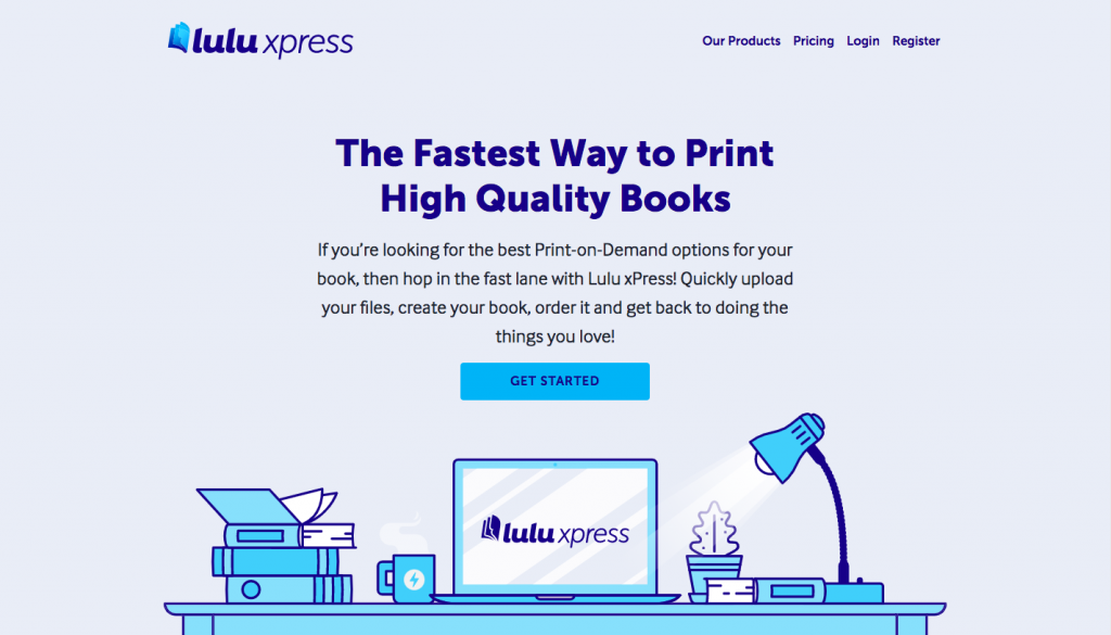 Print-on-demand company -- Lulu Xpress