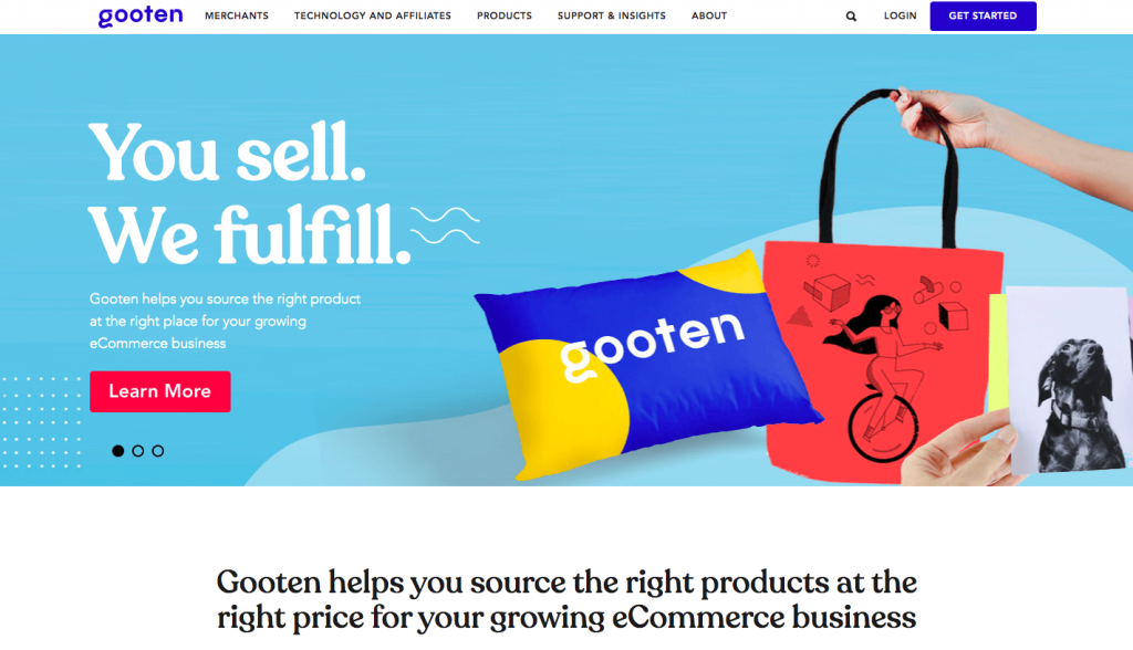 Print-on-demand company -- Gooten