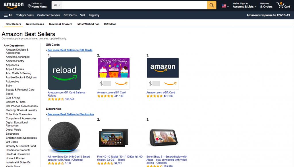 Amazon best sellers rank(bsr) -- AmzChart