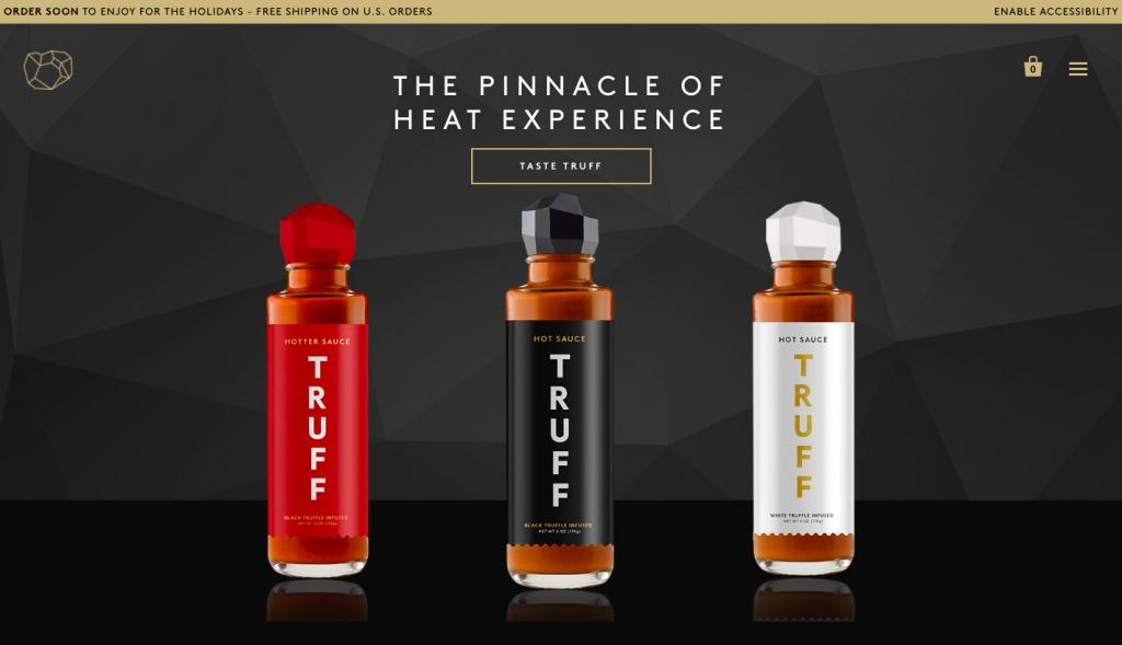 Truff hot sauce -- FindNiche