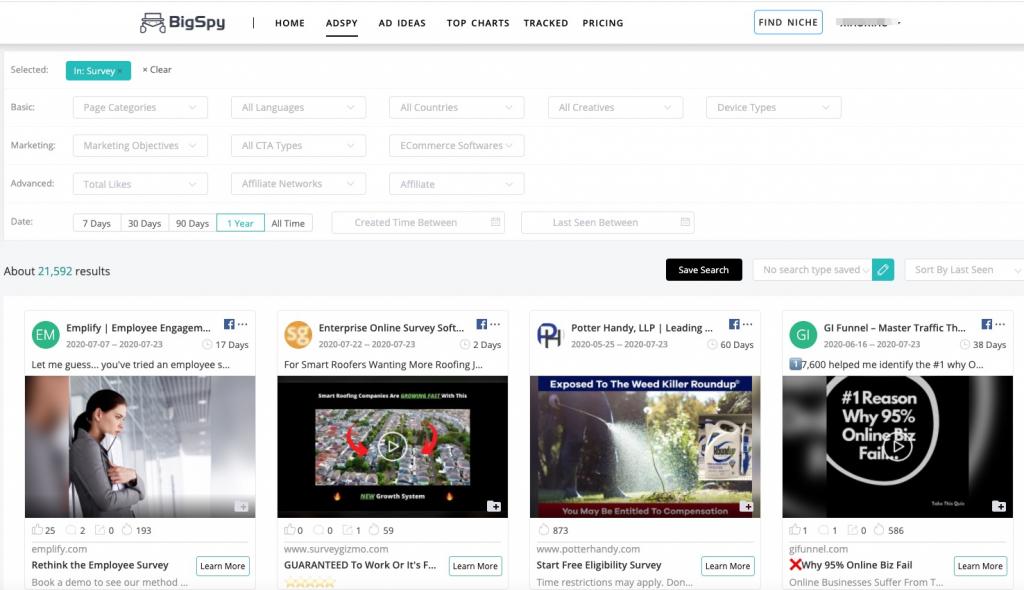 How To Use Facebook Ad Create A Survey & Promote Facebook Survey - BigSpy