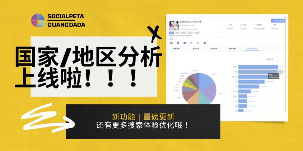 产品更新|广告主支持国家地区的分布分析-banner