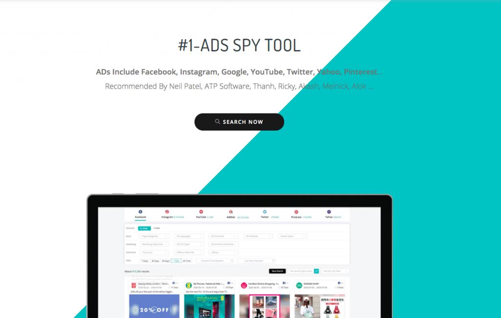 #1 ads spy tool - BigSpy