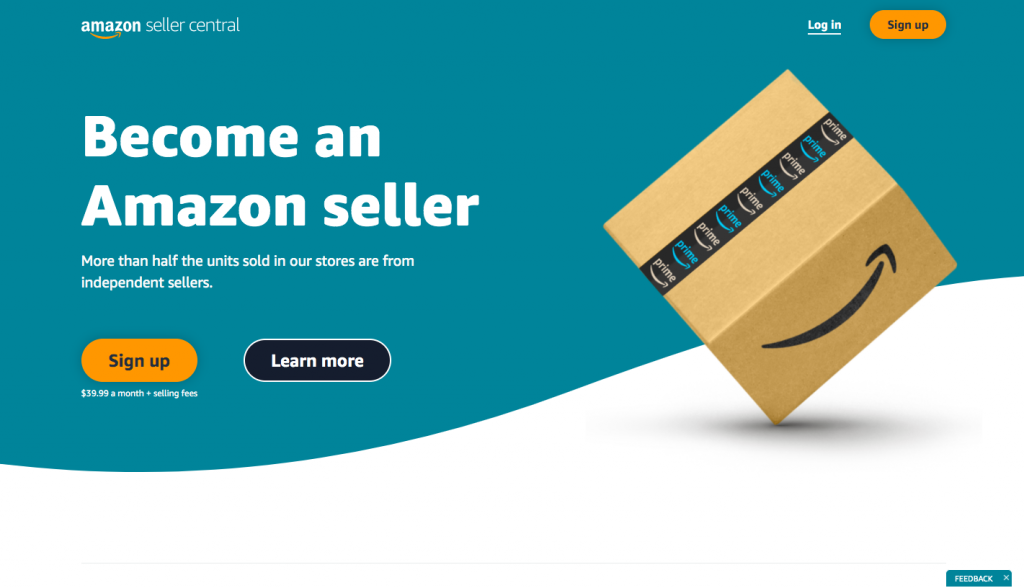 Amazon Seller Central -- AmzChart