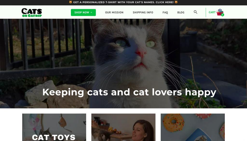 Catsoncatnip -- FindNiche