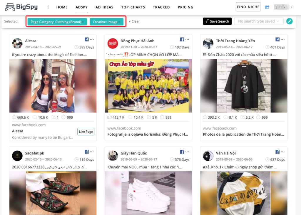 Eye-opening Clothing Ad Examples Research And Clothing Ad Tips Summary - BigSpy